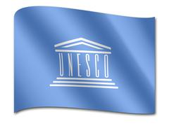 Flag of the united nations educational, scientific and cultural organization, Piirros