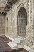 Ornate Islamic Tomb - stock photo
