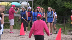 Dragon boat race and festival community event. Stock Footage