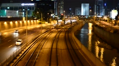 Train - , Tel Aviv, Israel, real time Stock Footage