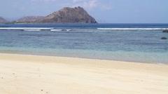deserted beach 6 - stock footage