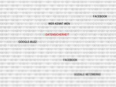 Data security in social networks on the internet, google-buzz, facebook, wer- Piirros