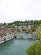 Stock Photo of aar river, bern, switzerland, europe