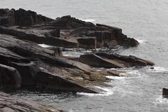 rocky coast at slea head, dingle peninsula, county kerry, ireland, british is - stock photo