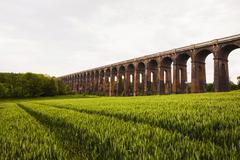 Stock Photo of Balcombe Viaduct railway bridge Balcombe Sussex England United Kingdom Europe