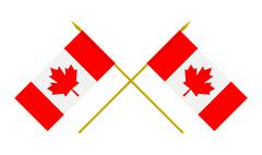 Stock Illustration of flags, canada