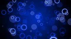 Blue Soft Circles Stock Footage