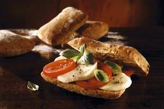 Food photos & pictures of sandwich recipes available as stock photos, picture Stock Photos