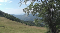 Polonina, mountains Stock Footage