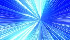 Night club rave laser light rays shinning into the camera Stock Footage