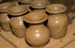 Pottery - stock photo