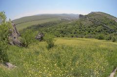 Stock Photo of crimean mountains, in crimea, ukraine, eastern europe