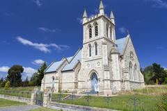 St Martins Anglican Church Duntroon Canterbury Region New Zealand Oceania - stock photo