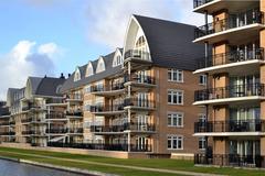 Modern luxuriously apartments. Stock Photos