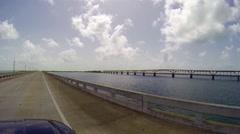 Bahia Honda bridge Stock Footage