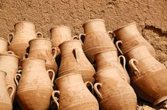 In a pottery workshop Stock Photos