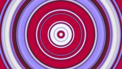 Rotating Target Circles Stock Footage
