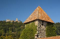 The medieval Burg Hohenklingen Castle near Stein am Rhein Canton of Kuvituskuvat