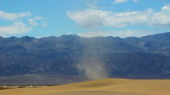 Dust Devil Death Valley Stock Footage