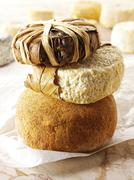 Food photos & pictures of french bannon provence cheese available as stock ph Stock Photos