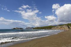 Iztuzu beach Dalyan Mugla Province Lycian and Turquoise Coast Aegean Turkey Asia Stock Photos