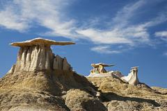 Stock Photo of stone wings, hoodoos, bisti badlands, bisti wilderness area, new mexico, usa