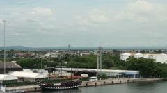 Cartagena, Columbia - Landscape Stock Footage