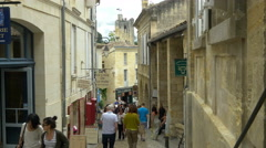 Rue de la Cadene - Saint Emilion France - HD 4k+ Stock Footage