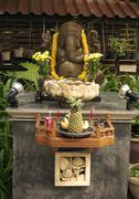Sacrificial altar for devout islanders on the island of phuket, andaman sea,  Stock Photos