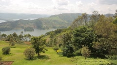Beautiful Landscapes in Uganda's National Parks, Africa - stock footage