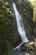 Waterfall in kitzloch gorge in taxenbach, pinzgau, federal state of salzburg, Stock Photos