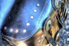 Hdr saddlebag Stock Photos