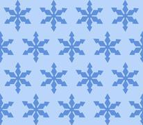 snowflakes, patterns, background, illustration, full frame - stock illustration