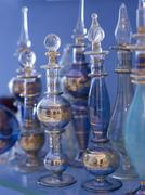 Flasks in oriental style Stock Photos