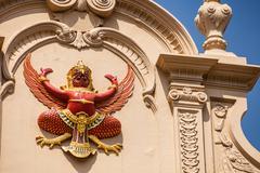 Garuda effigy Stock Photos