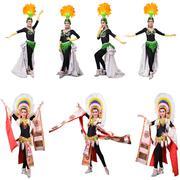 Cabaret dancer isolated Stock Photos