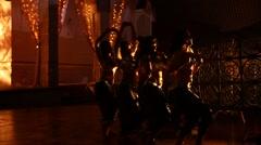 Female Dancers in the studio Stock Footage