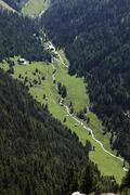 valley floor viggar-niederleger, meissner haus, tux alps, tyrol, austria, eur - stock photo