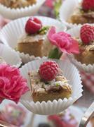 French pastries, petit fours Stock Photos