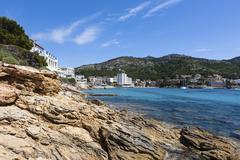 Stock Photo of bay of sant elm, municipality of andratx, sant elm, mallorca, balearic island