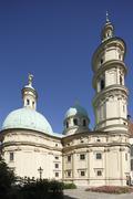 mausoleum of emperor ferdinand ii, graz, styria, austria, europe, publicgroun - stock photo