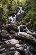 killarney waterfalls, killarney national park, killarney, kerry, republic of  - stock photo