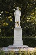 Monument for moritz ritter by franck, stadtpark, city park, graz, styria, aus Stock Photos