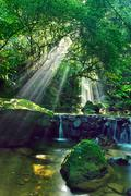 Long Quan Brook Taiwan China Asia Stock Photos