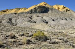Stock Photo of adobe buttes, orchard city, colorado, usa