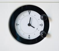 timer closeup - stock photo