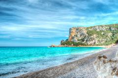 Stock Photo of hdr in cala luna