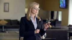 Phone Appointment - stock footage