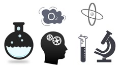 Concept of education and scienc info graphics Stock Footage