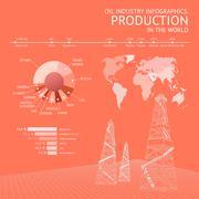 Oil industry. - stock illustration
